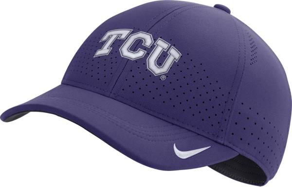 Nike Men's TCU Horned Frogs Purple Legacy91 Adjustable Hat product image