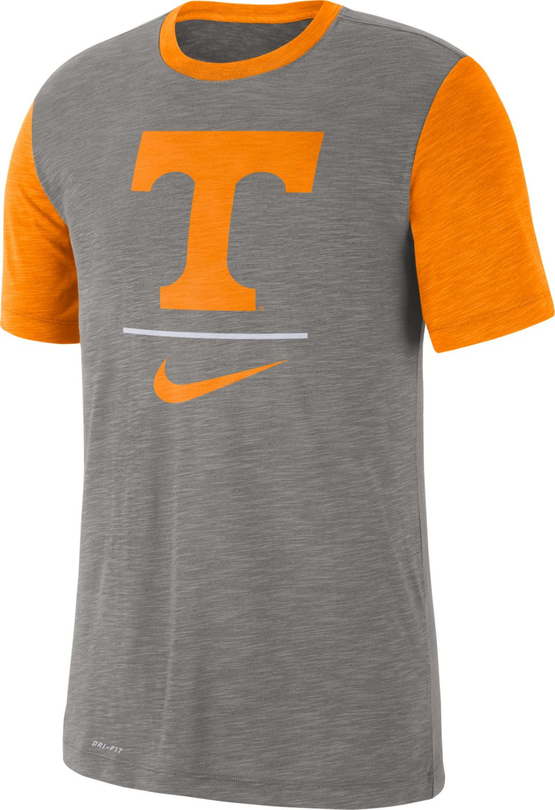 87ad3806a Nike Men's Tennessee Volunteers Grey Dri-FIT Baseball Slub T-Shirt.  noImageFound. Previous