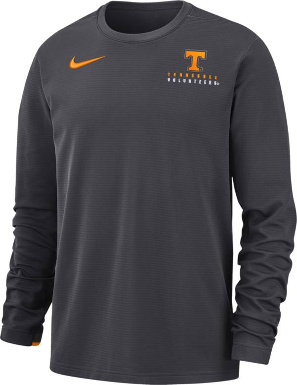 Nike Men's Tennessee Volunteers Grey Dri-FIT Modern Long Sleeve Crew Neck T-Shirt product image