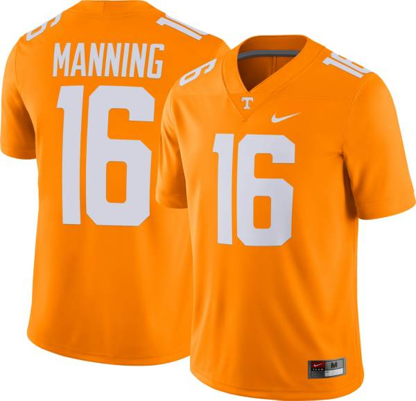 Nike Men's Peyton Manning Tennessee Volunteers #16 Tennessee Orange Dri-FIT Game Football Jersey product image