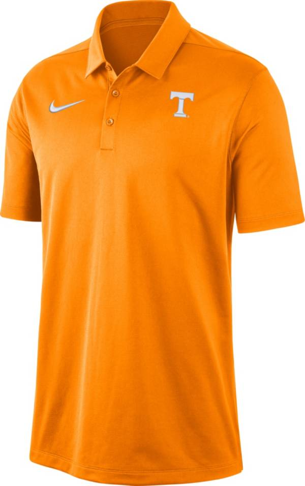 Nike Men's Tennessee Volunteers Tennessee Orange Dri-FIT Franchise Polo product image