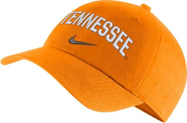 Nike Men's Tennessee Volunteers Tennessee Orange Heritage86 Arch Wordmark Hat product image