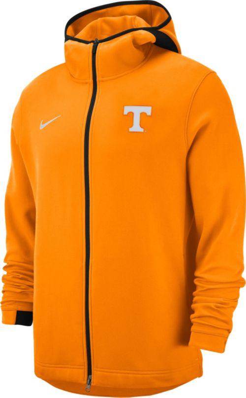 7690db14 Nike Men's Tennessee Volunteers Orange Dri-FIT Showtime Full-Zip Basketball  Hoodie. noImageFound. Previous