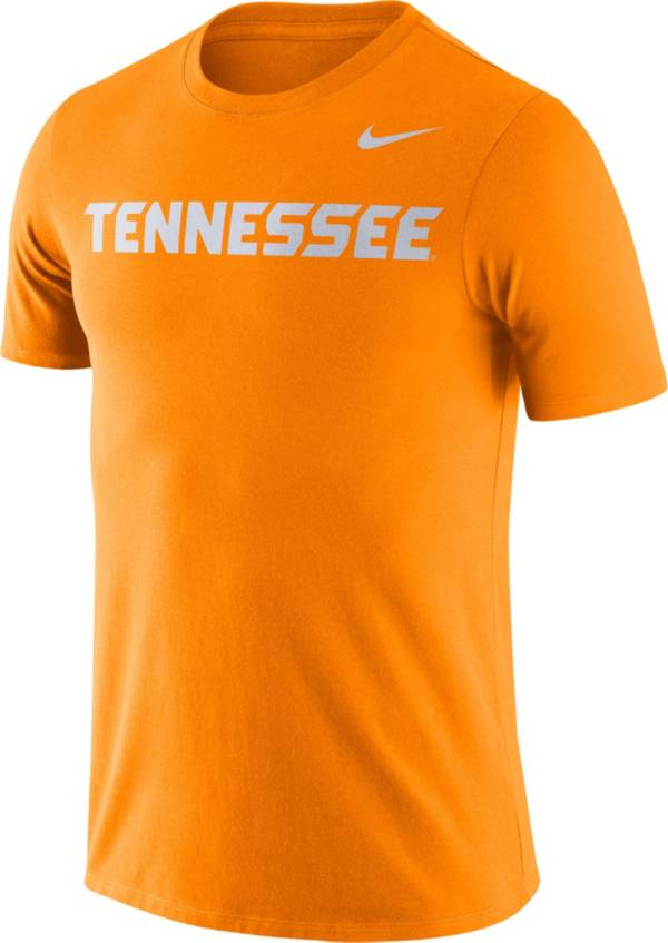 Nike Men's Tennessee Volunteers Tennessee Orange Dri-FIT Cotton Word T-Shirt product image
