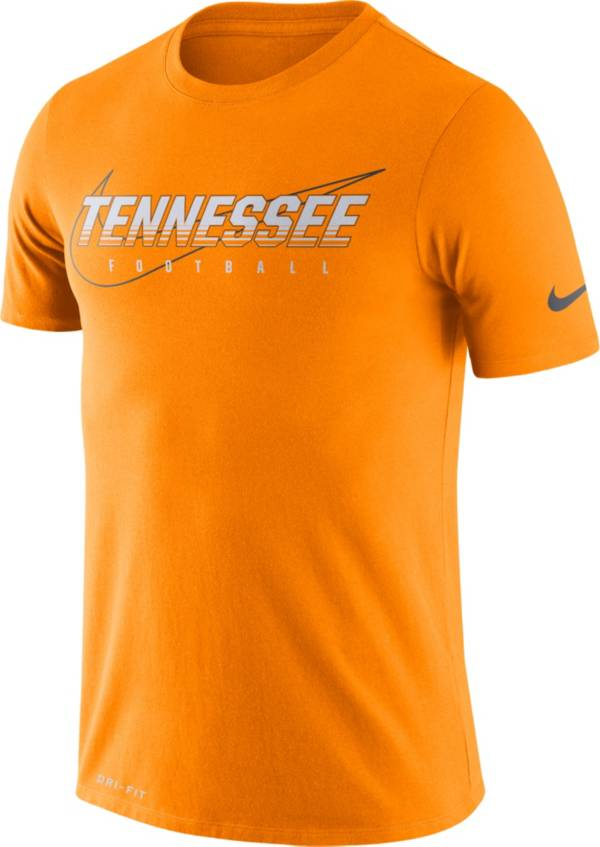 Nike Men's Tennessee Volunteers Tennessee Orange Football Dri-FIT Cotton Facility T-Shirt product image
