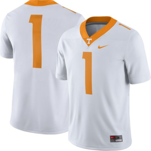 2e35f2bddebd Nike Men s Tennessee Volunteers  1 Game Football White Jersey.  noImageFound. Previous