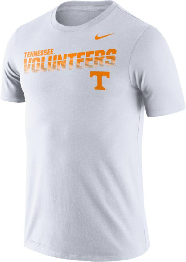 Nike Men's Tennessee Volunteers Legend Football Sideline White T-Shirt product image