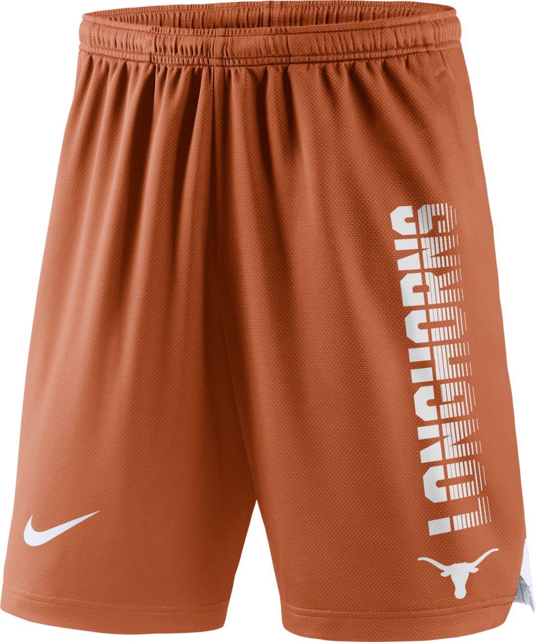watch 7ba77 3b951 Nike Men s Texas Longhorns Burnt Orange Breathe Player Shorts. noImageFound.  Previous