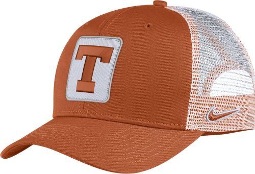 1d26374c29ed5 Nike Men s Texas Longhorns Burnt Orange Classic99 Trucker Hat ...