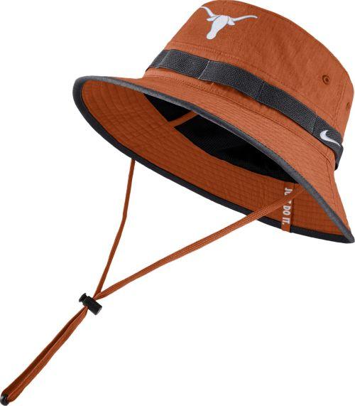 best authentic 0767d 96875 Nike Men s Texas Longhorns Burnt Orange Dri-FIT Sideline Bucket Hat.  noImageFound. Previous