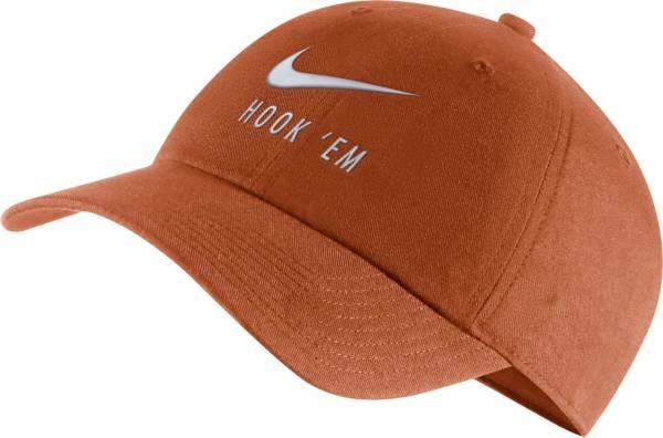 Nike Men's Texas Longhorns Burnt Orange Heritage86 Adjustable Hat product image
