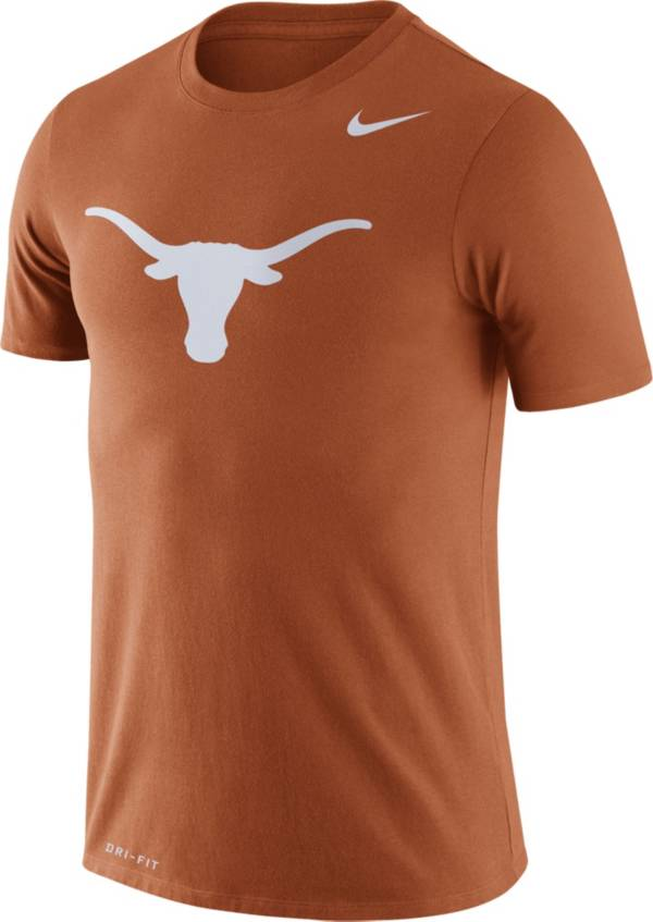 Nike Men's Texas Longhorns Burnt Orange Logo Dry Legend T-Shirt product image