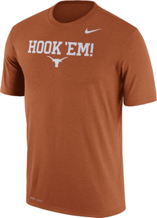 178f1574d Nike Men s Texas Longhorn Burnt Orange  Hook  Em!  Authentic Local Legend T- Shirt. noImageFound. Previous