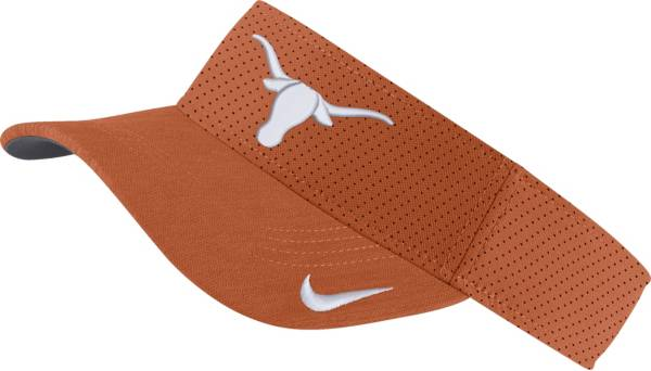 Nike Men's Texas Longhorns Burnt Orange AeroBill Football Sideline Visor product image