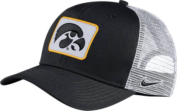 Nike Men's Iowa Hawkeyes Classic99 Trucker Black Hat product image