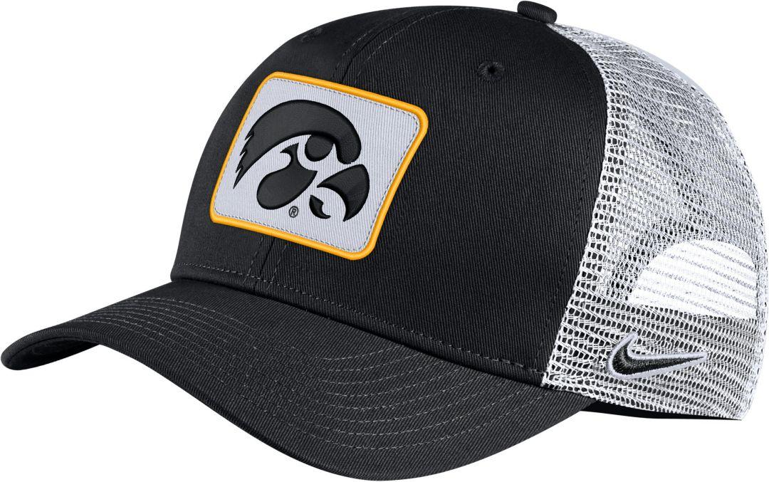 check out edb4f 7fe24 Nike Men s Iowa Hawkeyes Classic99 Trucker Black Hat