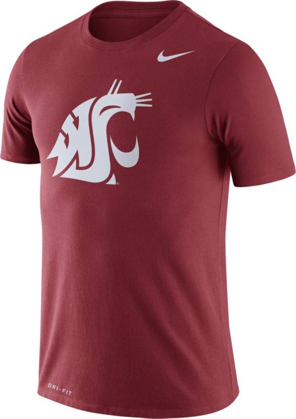 Nike Men's Washington State Cougars Crimson Logo Dry Legend T-Shirt product image