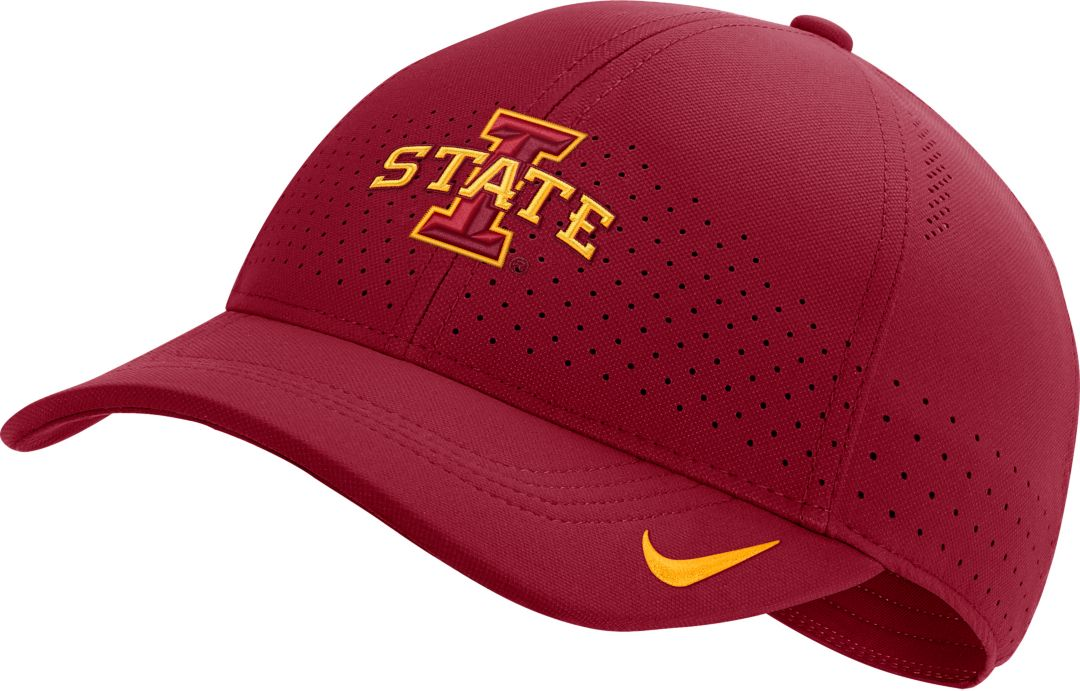 acad5e280 Nike Men's Iowa State Cyclones Cardinal Aerobill Classic99 Football  Sideline Hat