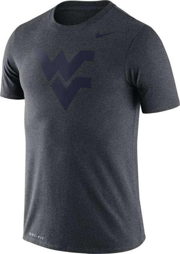 Nike Men's West Virginia Mountaineers Grey Logo Dry Legend T-Shirt product image