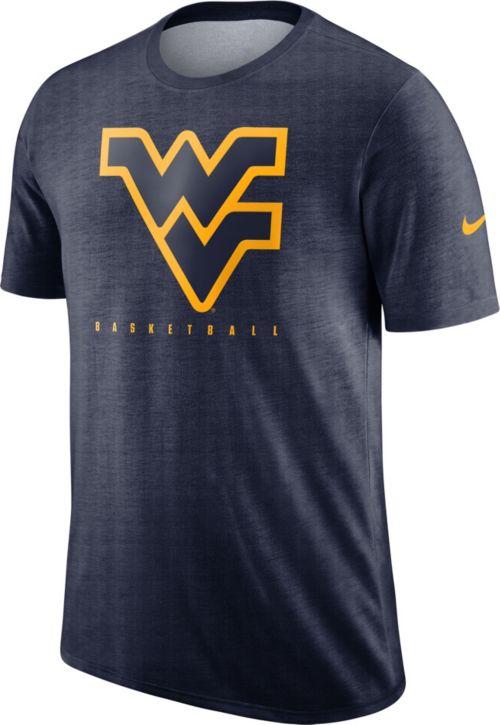 1c66314b Nike Men's West Virginia Mountaineers Blue Player Dri-FIT Basketball T-Shirt.  noImageFound. Previous
