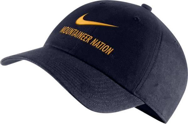 Nike Men's West Virginia Mountaineers Blue Heritage86 Adjustable Hat product image