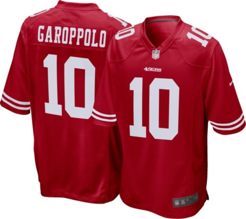 0c048d17113 Nike Men's Home Game Jersey San Francisco 49ers Jimmy Garoppolo #10.  noImageFound. Previous