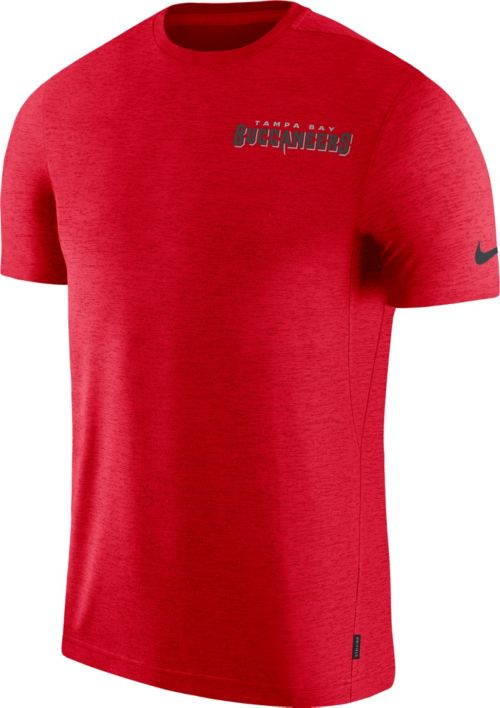 9a398970 Nike Men's Tampa Bay Buccaneers Sideline Coach Performance Red T-Shirt.  noImageFound. Previous