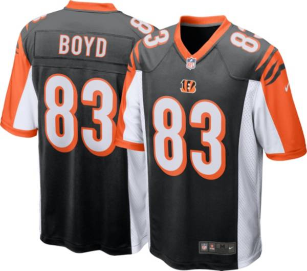 Nike Men's Cincinnati Bengals Tyler Boyd #83 Black Game Jersey product image
