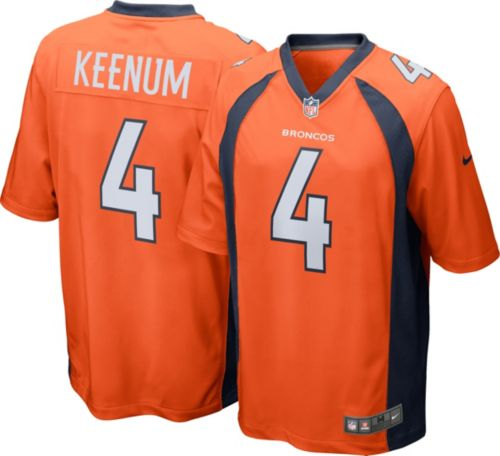 495b039e7 Nike Men's Home Game Jersey Denver Broncos Case Keenum #4 | DICK'S ...