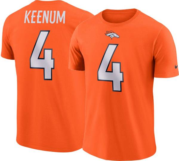 Case Keenum #4 Nike Men's Denver Broncos Pride Orange T-Shirt product image