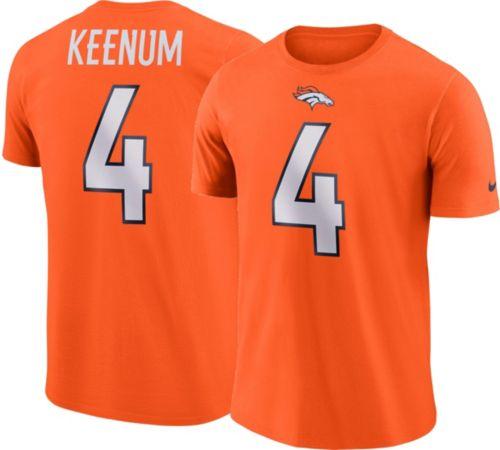 69415d3085d Case Keenum #4 Nike Men's Denver Broncos Pride Orange T-Shirt.  noImageFound. Previous