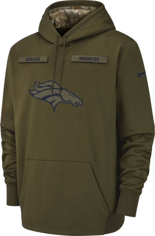 pretty nice 92853 cccb2 Nike Men s Salute to Service Denver Broncos Therma-FIT Performance Hoodie.  noImageFound. Previous