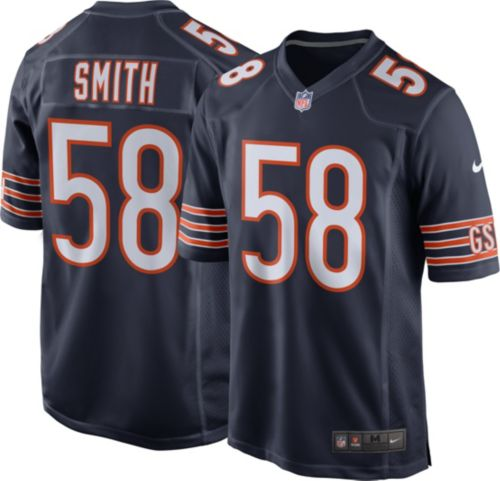 Roquan Smith  58 Nike Men s Chicago Bears Home Game Jersey  55bbdc931