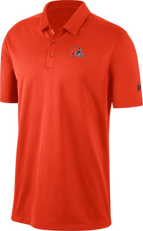 3f0a81f6 Nike Men's Cleveland Browns Franchise Orange Polo. noImageFound. Previous