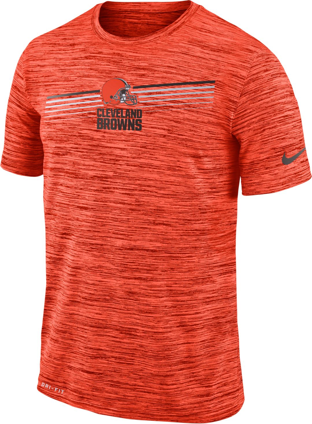 7e2f0288 Nike Men's Cleveland Browns Sideline Legend Velocity Orange T-Shirt
