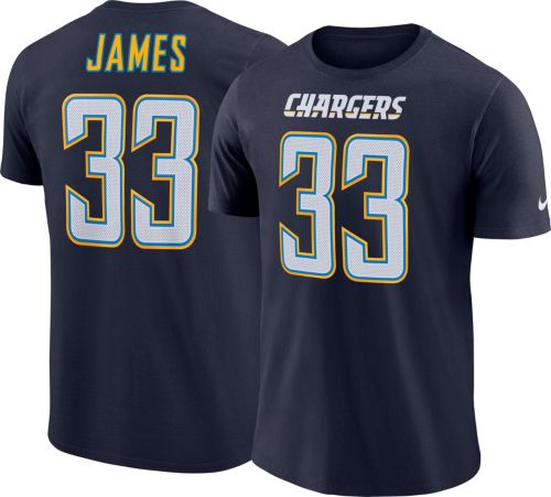 54166f0b1 Derwin James  33 Nike Men s Los Angeles Chargers Pride Navy T-Shirt.  noImageFound. Previous