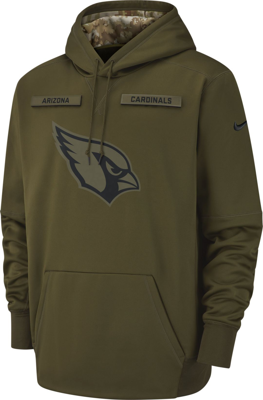 Nice Nike Men's Salute to Service Arizona Cardinals Therma FIT  free shipping