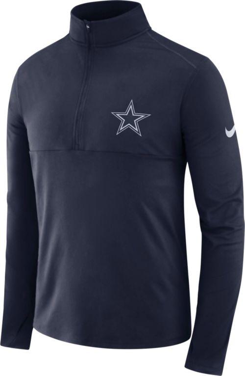e544e16535e Nike Men's Dallas Cowboys Core Performance Navy Half-Zip Pullover Top.  noImageFound. Previous