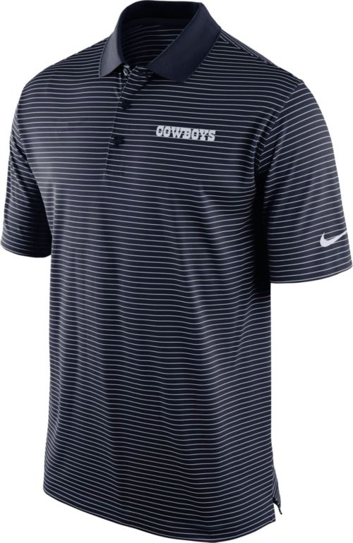Nike Men s Dallas Cowboys Stripe Dri-FIT Navy Polo. noImageFound. Previous 3a948bdc9