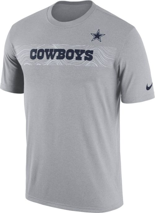 Nike Men s Dallas Cowboys Sideline Seismic Legend Performance Grey T-Shirt.  noImageFound. Previous e59affa74