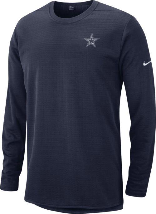 fafbfae17 Nike Men s Dallas Cowboys Sideline Modern Navy Long Sleeve Top.  noImageFound. Previous