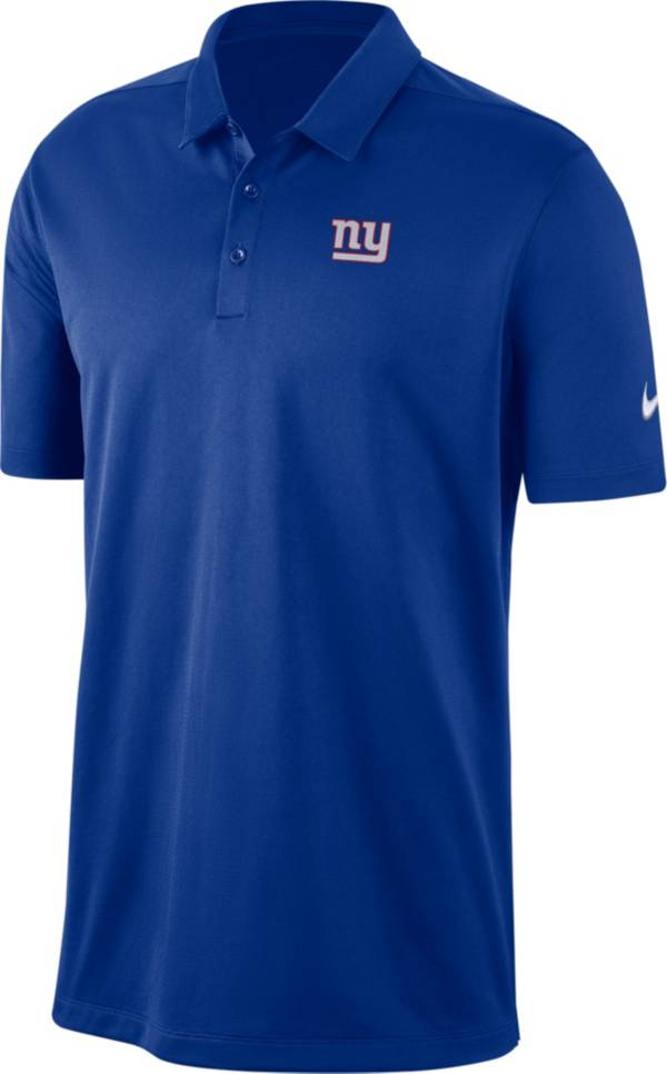 Nike Men's New York Giants Franchise Blue Polo product image