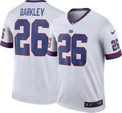 release date: 8fee1 90716 Nike Men's Color Rush Legend White Jersey New York Giants Saquon Barkley #26