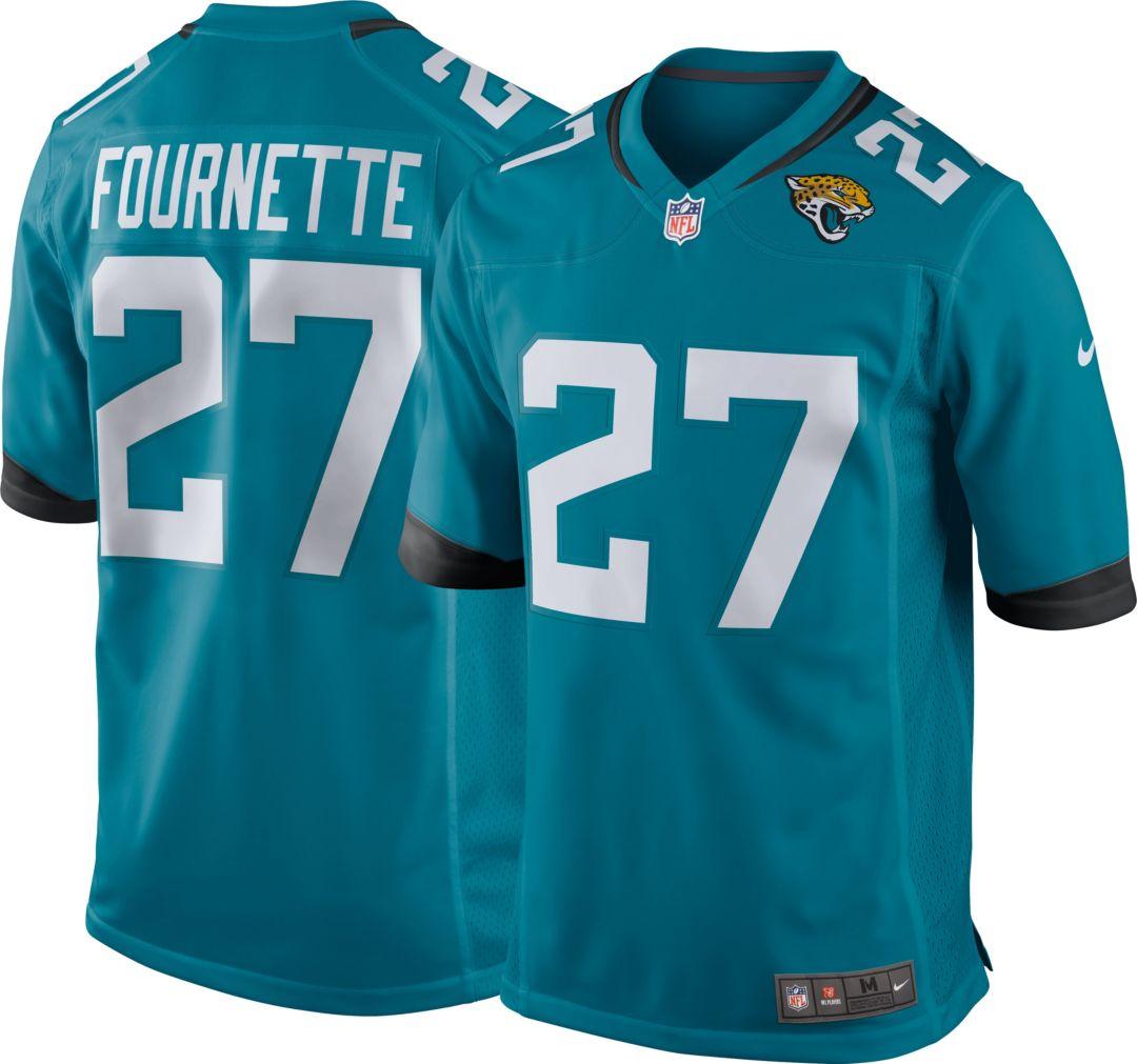 071479cf Nike Men's Alternate Game Jersey Jacksonville Jaguars Leonard Fournette #27