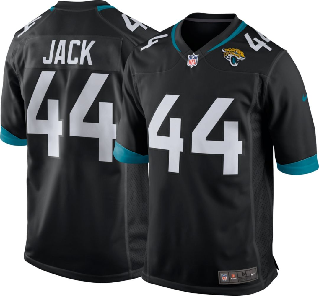 New Nike Men's Home Game Jersey Jacksonville Jaguars Myles Jack #44  hot sale