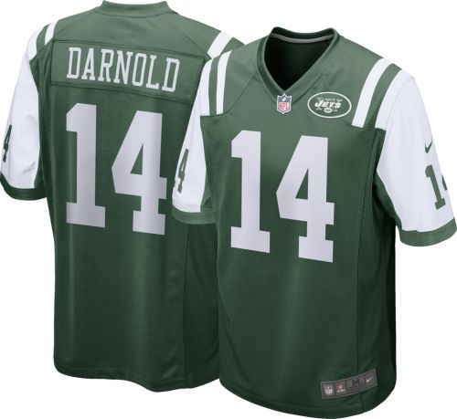 huge discount a2cd4 36a00 Sam Darnold  14 Nike Men s New York Jets Home Game Jersey   DICK S Sporting  Goods