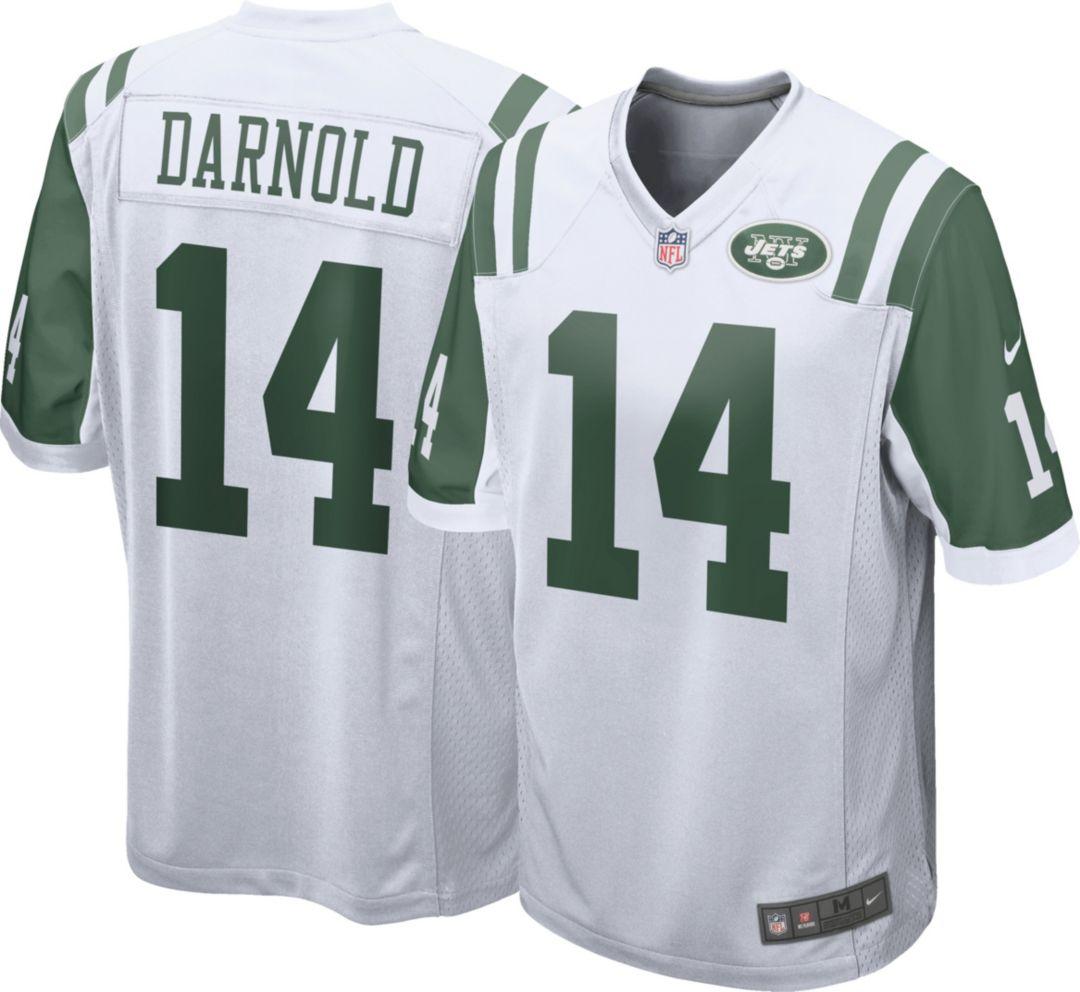 bd8ed0f2 Nike Men's Away Game Jersey New York Jets Sam Darnold #14. noImageFound.  Previous