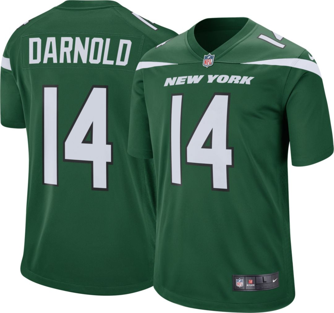 a15c4b48 Nike Men's Home Game Jersey New York Jets Sam Darnold #14. noImageFound.  Previous