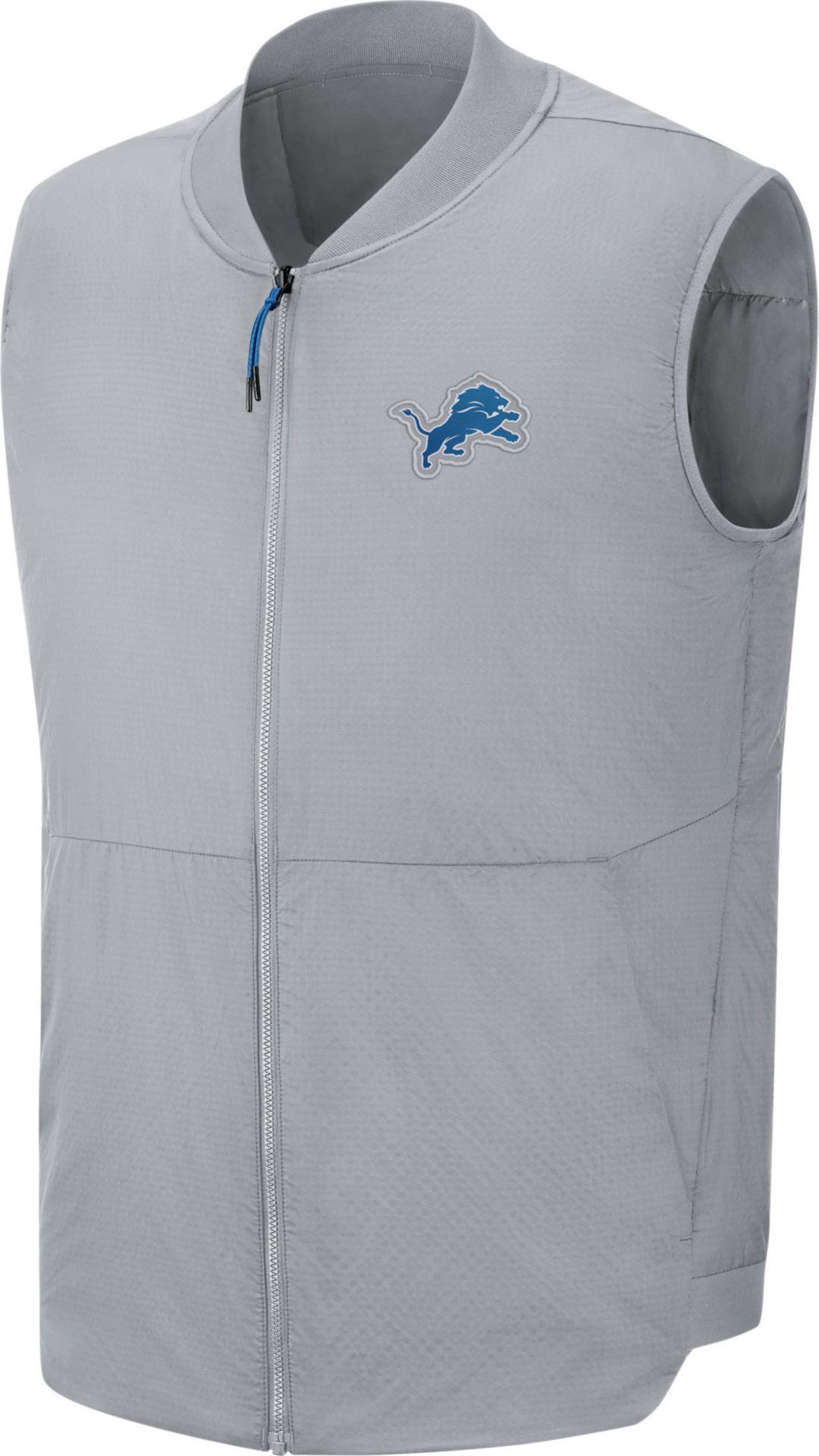 767d0da8 Nike Men's Detroit Lions Sideline Navy Vest