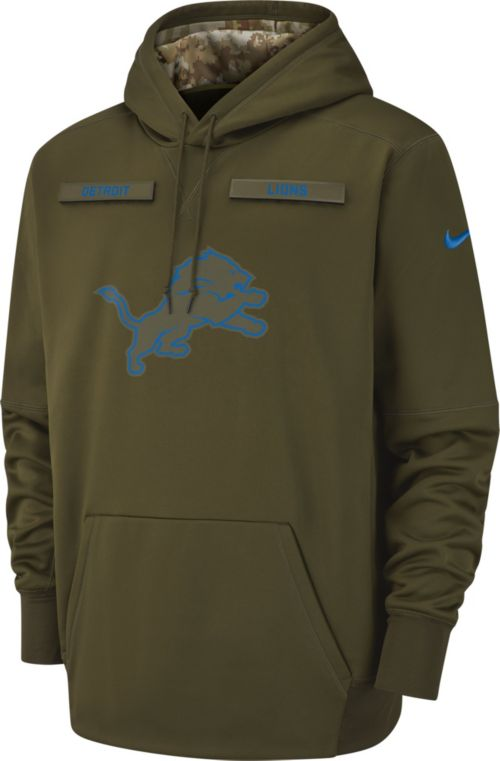 Nike Men s Salute to Service Detroit Lions Therma-FIT Performance Hoodie.  noImageFound. Previous d8effead2